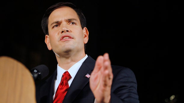 File photo of Sen. Marco Rubio