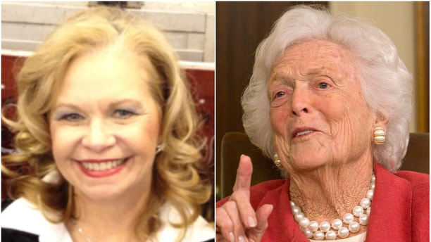 Texas native Donna Abert Andrich says Barbara Bush saved her life nearly 60 years ago at an apartment complex in Houston.