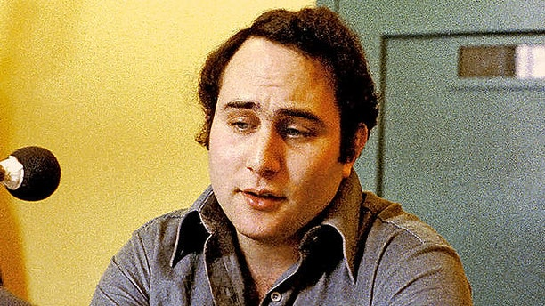"""Feb. 22, 1979: David Berkowitz, known as """"Son of Sam,"""" is shown during an interview at Attica Prison in New York."""