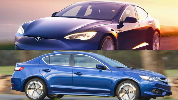 Tesla Model S/Acura ILX