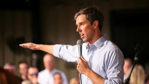U.S. Representative Beto O'Rourke, D-Texas, campaigning in Houston last November.