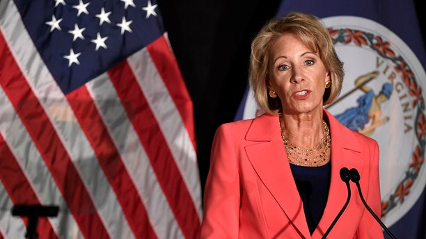 Education Secretary Betsy DeVos is expected to rollback Obama-era Title IX rules and place new regulations in September.