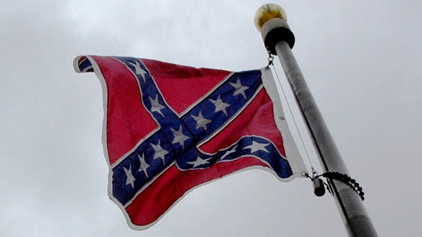 FILE: Jan. 9, 2008: A Confederate flag waves over the grounds of the South Carolina state capitol in Columbia.
