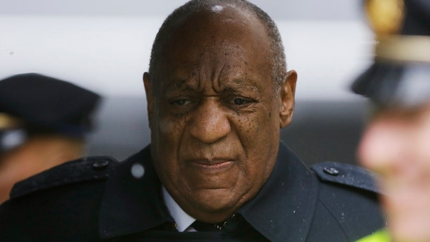 Bill Cosby arrives for his sexual assault trial, Monday, April 16, 2018, at the Montgomery County Courthouse in Norristown, Pa. (AP Photo/Matt Slocum)