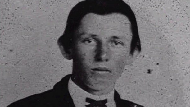 This undated file photo is thought to be an image of famed gunslinger Billy the Kid, William Bonney, near the age of 18