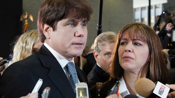 Disgraced Illinois Gov. Rod Blagojevich was sentenced to prison in 2011.