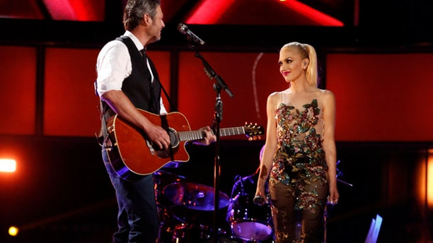 """Blake Shelton and Gwen Stefani met when they were cast as coaches on """"The Voice."""""""