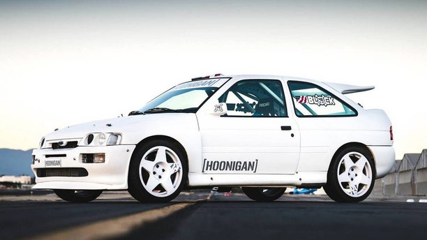 The 1991 Ford Escort RS Cosworth was never sold in the U.S.