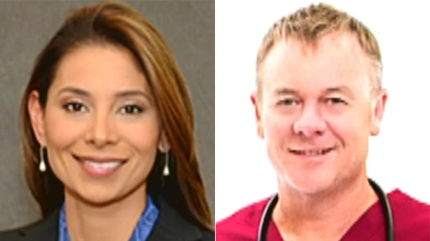 The attack killed Drs. Lina Bolanos, left, and Richard Field.