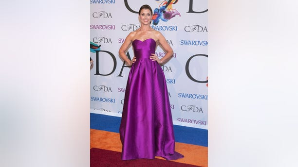 June 2, 2014. Actress Bridget Moynahan arrives for the Council of Fashion Designers of America Awards (CFDA) at Lincoln Center in New York.