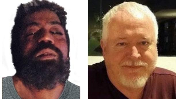 Toronto Police say Bruce McArthur, right, has now been charged in the murder of Kirushna Kumar Kanagaratnam, left.