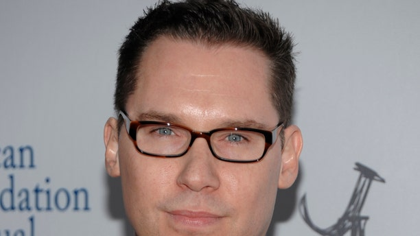 """March 3, 2012. Director Bryan Singer arrives at the Los Angeles premiere of the play """"8"""" in Los Angeles."""