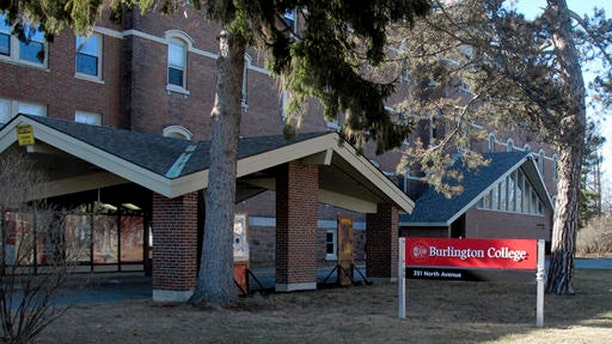 This Feb. 22, 2015 photo shows a building on the campus of Burlington College in Burlington, Vt. The college, formerly headed by Jane Sanders, wife of presidential candidate Bernie Sanders, announced Monday, May 16, 2016, it is closing. The school has been struggling under the weight of its $10 million purchase of property and buildings during from the Roman Catholic Diocese of Burlington that it made during her presidency. (AP Photo/Wilson Ring)
