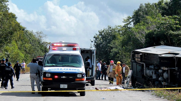 Passengers of the deadly bus crash in Mexico were on a tour to the Mayan ruins as part of a cruise-sanctioned excursion.