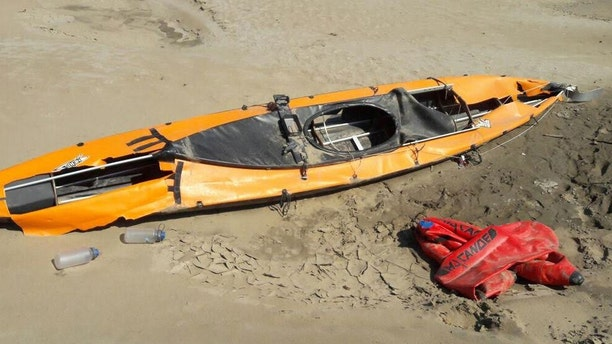 A kayak found in the Amazon may have belonged to Emma Kelty, 43, who had been 42 days into her 4,000-mile trip along the Amazon River when she was robbed and fatally shot.
