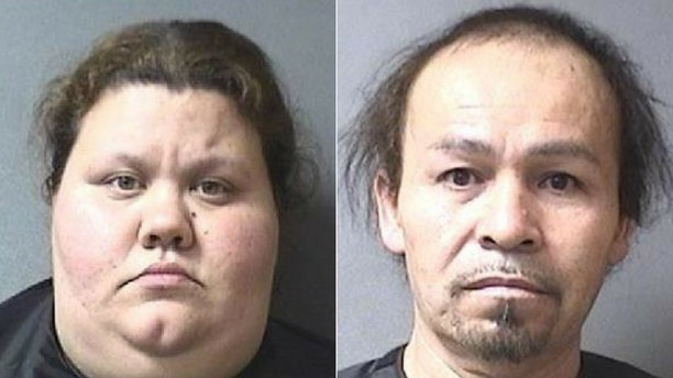 Connie and Javier Campos are accused of locking her children in the basement for hours with no food, water and bathroom to use.