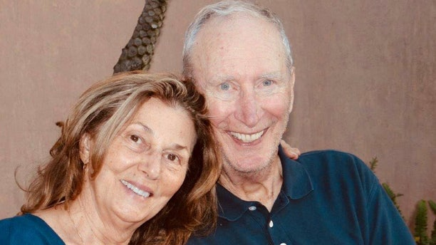 Roy Rohter, right, and his wife Theresa were swept from their home in Montecito early Tuesday.