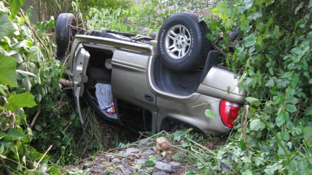 UNDATED: An 18-year-old Pennsylvania woman was pinned in her SUV for about 18 hours, according to West Hempfield Township authorities.