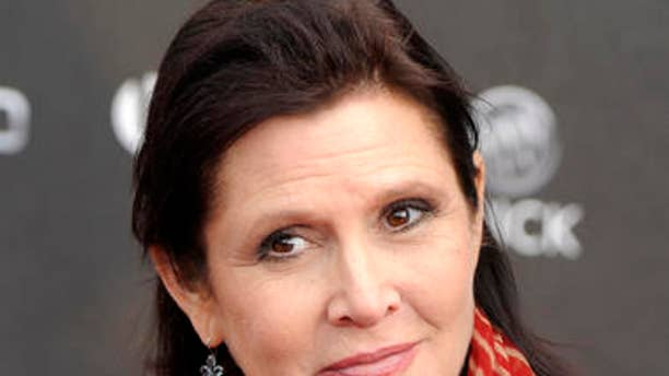 Celebrities paid tribute to Carrie Fisher on Wednesday, which was the one-year anniversary of her death.