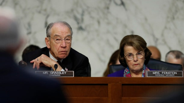 Sen. Dianne Feinstein stunned Sen. Chuck Grassley by releasing the transcript from Glenn Simpson's interview.