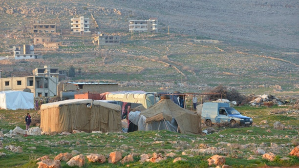 Syrian refugees near the Christian village of Kaa, Lebanon. The Christian presence may disappear completely within a decade or even sooner according to a recently released study. (Aid to the Church in Need-US)
