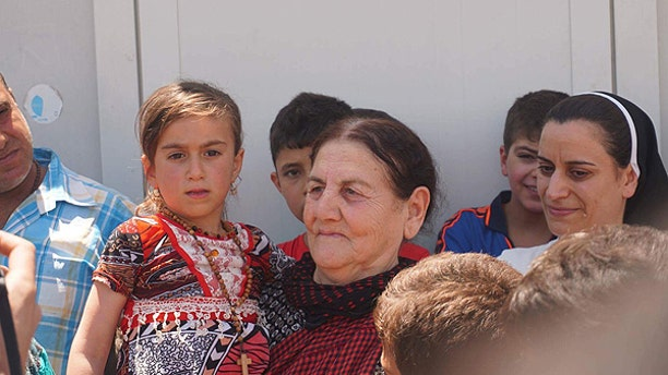 Christina Abada was welcomed back by family and other well-wishers on Friday morning after she was rescued and released by Iraqi Special Forces. She was only three when she was originally abducted by ISIS from the city of Qaraqosh in 2014.