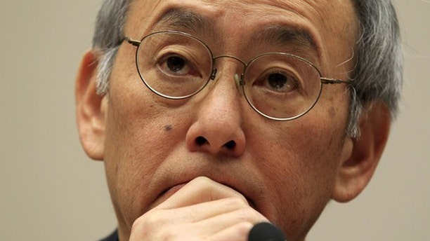 Nov. 17, 2011: Energy Secretary Steven Chu testifies during a House Energy and Commerce Committee hearing.