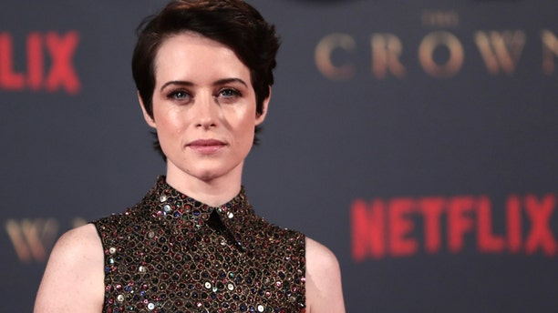 """Actor Claire Foy, who plays Queen Elizabeth II, attends the premiere of """"The Crown"""" Season 2 in London, Britain, November 21, 2017"""