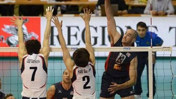 Olympic gold medalist Clay Stanley is among the players named to the U.S. men's volleyball roster for the London Games
