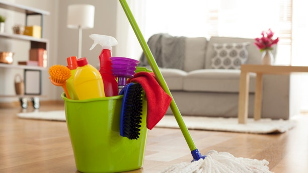 Two Maids and a Mop, company not pictured, partnered with Cleaning for a Reason to offer the free services.
