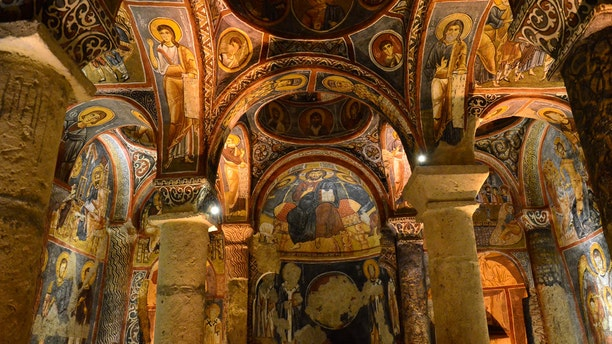 You can explore beautiful Byzantine mosaics and paintings leftover from the time when Christians hid and worshipped in the region.