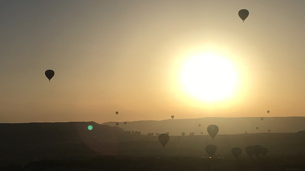 Cappadocia is perhaps now best known for its incredible hot air ballooning.