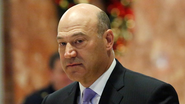Cohn opposed Trump's planned tariffs on imports of steel and aluminum, first announced last week.