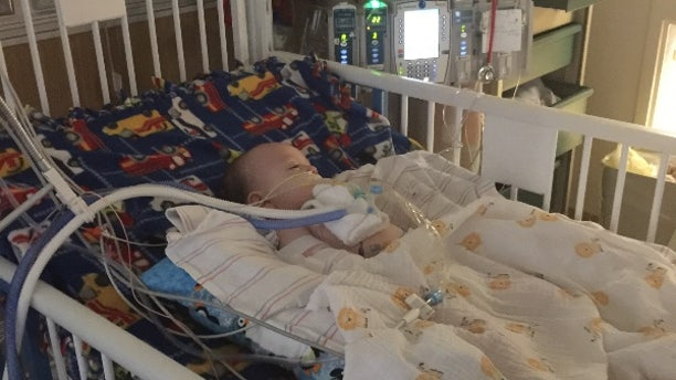 Cole Hansberger's mother first noticed his head drooping while he was crawling.