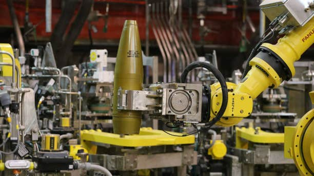 Jan. 29, 2015: Robots are remotely controlled to to handle inert simulated chemical munitions used for training at the Pueblo Chemical Depot, east of Pueblo, in southern Colorado.