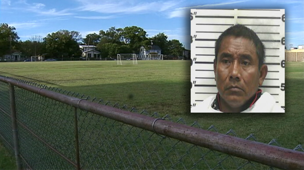 Marcos Ramos (inset) and the soccer fields where his team practiced. (Photo: Fox 4 Dallas)