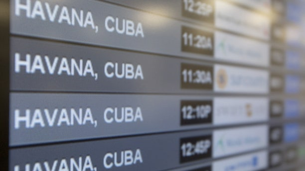 The U.S. Department of Transportation opened bidding by American air carriers on as many as 110 U.S.-Cuba flights a day.