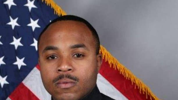 Nashville Police Officer Terrance McBride, a 3-year veteran, was shot in the shoulder while serving an arrest warrant.