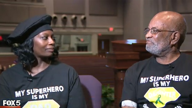 Dawn Muhammad went on a secret journey to lose weight so that she could qualify as an organ donor for her dad.