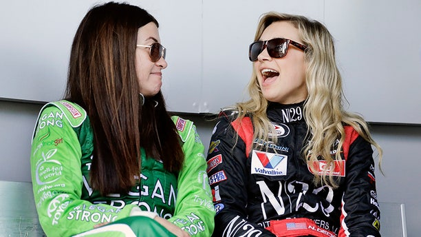 Leilani Munter and Natalie Decker both credit Danica Patrick with opening doors for women in NASCAR racing.