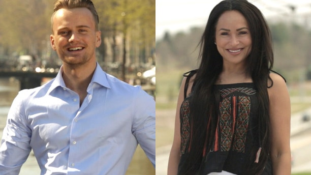"Darcey (right) hopes to find love with Jesse (left) on TLC's ""90 Day Fiance: Before the Ring."""