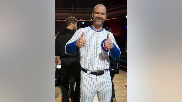 """David Ross during """"Dancing with the Stars."""""""