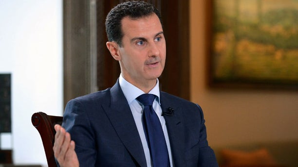 JULY 14: Syrian President Bashar Assad, speaks during an interview with NBC News in Damascus, Syria.