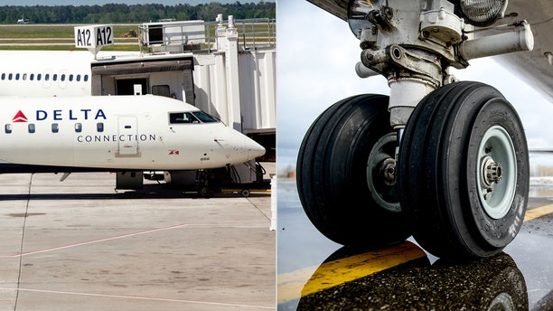"A Delta Connection flight operated by ExpressJet reported a problem ""with one of the aircraft's wheels,"" a spokesperson confirmed."