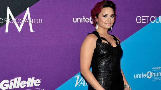 Demi Lovato on February 27, 2014 in Los Angeles, California.