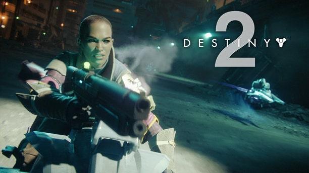 Destiny 2 trailer screenshot. (Credit: YouTube)
