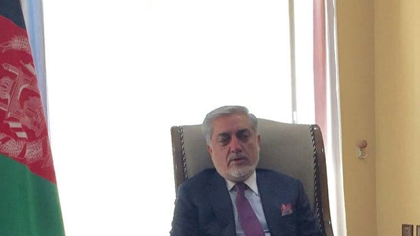 Dr. Abdullah Abdullah, the Chief Executive Officer of Afghanistan