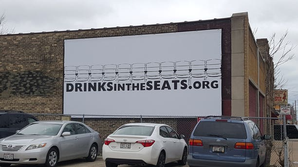 Ryan Strnad is hoping his billboards will bring awareness to the plight of Miller Park's beer vendors.