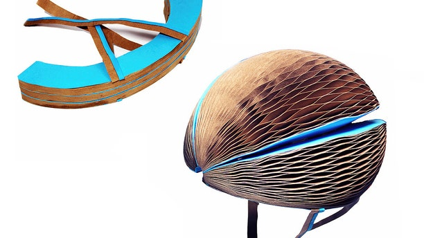 The EcoHelmet is a reusable, biodegradable and collapsible alternative to bulky helmets.
