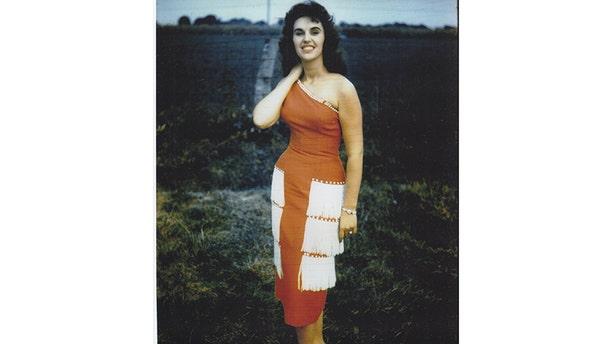 One of Wanda Jackson's many famous looks.
